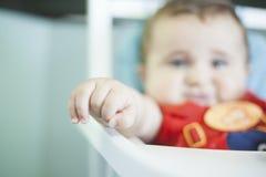 Рука babyboy Стоковые Изображения