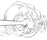 рука canon предпосылки комичная нарисованная Стоковые Фото