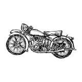 Рука doodle вектора иллюстрации нарисованная войск m эскиза ретро Стоковая Фотография
