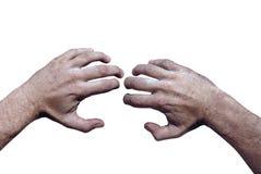 рука grunge иллюстрация штока