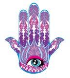 Рука Hamsa иллюстрация вектора