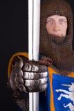 рука knights шпага стоковое фото rf