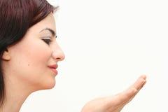 рука oriental девушки Стоковое Изображение RF