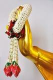 рука s гирлянды Будды стоковые изображения rf