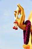 рука s гирлянды Будды стоковая фотография