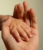 рука s младенца стоковое изображение rf