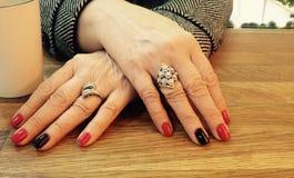 Руки дамы Стоковое фото RF