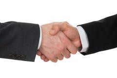 руки бизнесмена трястия 2 Стоковая Фотография RF