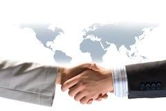 руки бизнесменов трястия 2 Стоковые Фото
