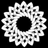 Руки блокировать в круговом орнаменте бесплатная иллюстрация