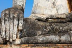 Руки Будды, Wat Mahathat, парк Sukhothai исторический, Таиланд Стоковые Изображения