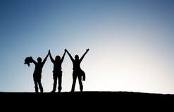 Руки вверх Стоковые Изображения