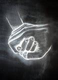руки воспитывая Стоковая Фотография