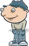 Руки в его брюках Стоковая Фотография RF