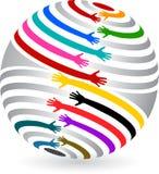 Руки глобуса бесплатная иллюстрация