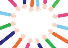 Руки детей Стоковое Изображение RF