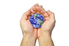 руки земли Стоковое фото RF