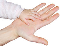 руки изолировали белизну 2 Стоковое Изображение RF