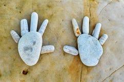 Руки камня Стоковые Изображения RF