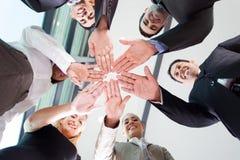 Руки команды дела Стоковое фото RF