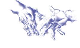 руки конспектов Иллюстрация вектора
