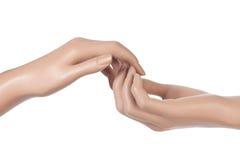 Руки манекена Стоковое Изображение