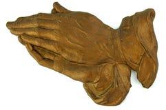 руки моля белизну Стоковые Изображения RF