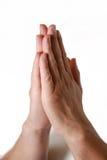 руки моля Стоковые Изображения RF