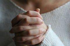 руки моля Стоковые Фото