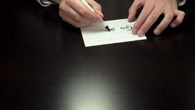 Руки писать примечание идут прочь акции видеоматериалы