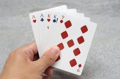 2 руки покера пар стоковое фото rf