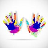 Руки помощи Стоковое Изображение RF