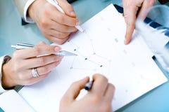 руки предпринимателей стоковое изображение rf