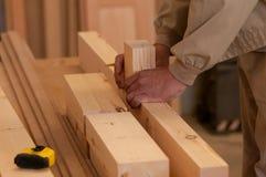 Руки работника Стоковое Фото