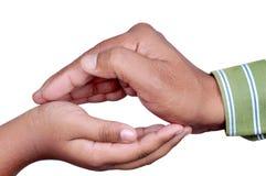 руки расквартировывают сделано Стоковое Изображение