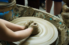 Руки ребенка Стоковое фото RF