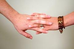 руки совместно Стоковое фото RF