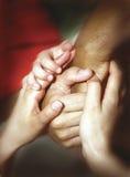 руки совместно Стоковая Фотография RF