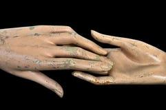 руки соединяют Стоковая Фотография