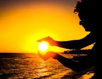 Руки Солнця Стоковая Фотография RF