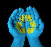 Покрашенные руки Стоковое фото RF