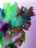 Руки украшения текстуры влюбленности природы цветочного узора предпосылки акварели обои абстрактной красивые Стоковое фото RF