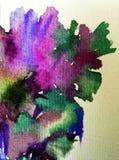 Руки украшения текстуры влюбленности природы цветочного узора предпосылки акварели обои абстрактной красивые Стоковые Фотографии RF