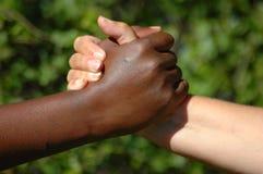 руки улучшают команду Стоковое Фото