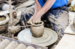 Handmade гончарня Стоковые Изображения