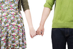 руки держа любовников Стоковые Изображения RF