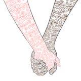руки 2 Стоковая Фотография RF
