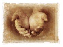 Руки Empy Стоковая Фотография