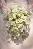 руки groom невесты букета bridal Стоковые Изображения