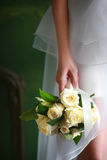руки groom невесты букета bridal Стоковая Фотография RF